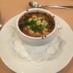 もう一度食べたい!オニオングラタンスープです!