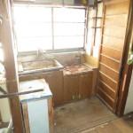 施工前のキッチンがあった場所